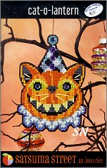 Cat-O-Lantern Kit from Satsuma Street - click for more