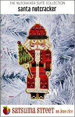 Santa Nutcracker Kit by Satsuma Street - click for more