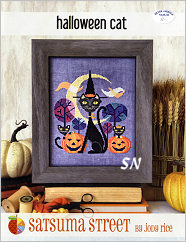Halloween Cat by Satsuma Street - click for more