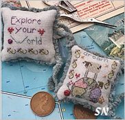 Explore Your World Fob Kit from Shepherd's Bush - click to see more
