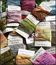 Teri's Gorgeous Hand-dyed Rayon/Silk Ribbon from Shepherd's Bush
