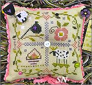 Little Blessings Pincushion Kit from Shepherd's Bush - click for a larger view
