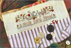 Sew-Needle Pulling Thread Bag Kit from Shepherd's Bush - click for a larger view