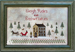 Sleigh Rides and Snowflakes from The Scarlett House - click for more