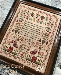 Jane Cowey 1850 from Scarlett House - click for more