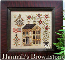 Hannah's Brownstone from Scarlett House - click for more
