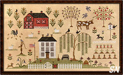 Heartland Sampler from Scarlett House - click for more