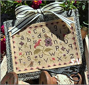 Spring Fling Stitching Bag from Scarlett House - click for more