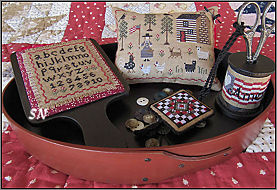 American Homestead Sewing Set from Scarlett House - click for more