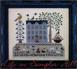 Life on Sampler Hill from Scarlett House - click for more