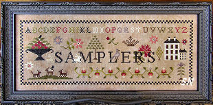 Samplers from Scarlett House - click for more