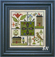 Center Point Sampler from Scarlett House - click for more