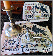 Coverlet Candle Mat from Scarlett House - click for more