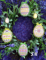 Scissor Tail Designs Spring Bling Easter Eggs #2 - click to see more