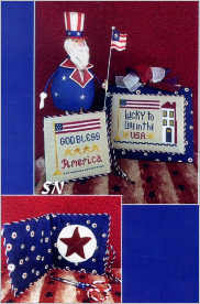 God Bless America from ScissorTail Designs - click to see more