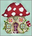 Mushroom House from Shannon Christine Designs - click to see more