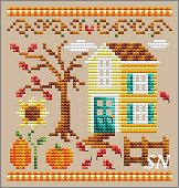 Pumpkin House from Shannon Christine Designs - click to see more