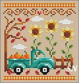 Pumpkin Truck from Shannon Christine Designs - click to see more