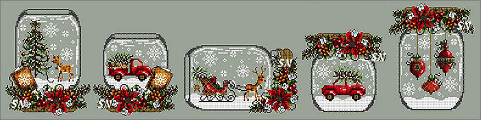 Snow Globes for Christmas from Shannon Christine Designs - click to see more