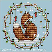 Woodland Fox from Shannon Christine Designs - click to see more