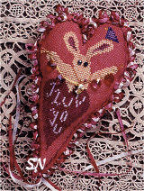 Valentine Wabbit from Sheepish Designs