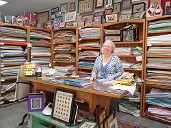 Mary Anne, our Fabric Goddess - click for a larger view