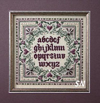 Plumberry Sampler from The Sweetheart Tree - click to see more