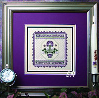 Lavender Carnation Sampler from The Sweetheart Tree - click for more