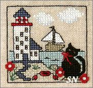Itty Bitty Kitty - At The Lighthouse from The Sweetheart Tree - click to see more
