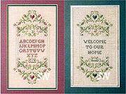 A Welcoming Sampler from The Sweetheart Tree - click to see more