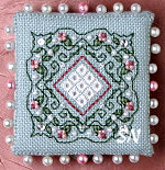 Colonial Roses Pin Keep from The Sweetheart Tree - click to see more