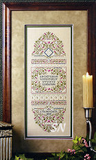 Lady Dunmore's Sampler from The Sweetheart Tree - click to see more