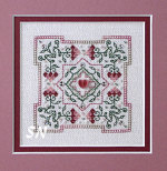 Strawberry Quilt Block -- click to see a more