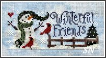 Winterful Friends from Silver Creek Samplers - click for more