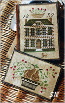 Boxwood Manor Sewing Book & Thread Keep -- click to see more
