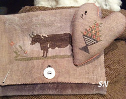 Stacy Nash Brown Cow Sampler Bag and Pinkeep -- click to see more