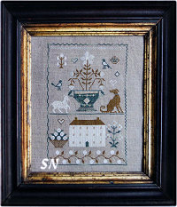 Stacy Nash Old White Farmhouse Sampler -- click to see more