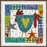 Cluck Cluck from The Stitching Shed -- click to see a larger view
