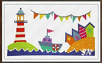 Lighthouse from The Stitching Shed -- click to see a larger view