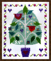 Tree of Love from The Stitching Shed -- click to see a larger view