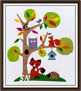 Woodland from The Stitching Shed -- click to see a larger view