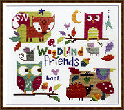 Woodland Friends from The Stitching Shed -- click to see a larger view