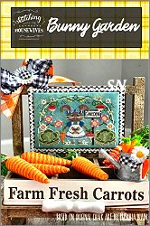 Stitching With The Housewives presents Bunny Garden - click to see more