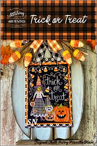 Stitching With The Housewives Trick or Treat - click to see more