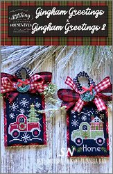 Stitching With The Housewives Presents Gingham Greetings 1 & 2 - click to see more