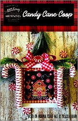 Stitching With The Housewives Candy Cane Coop - click to see more