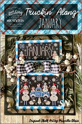 Stitching With The Housewives January's Truckin' Along - click to see more