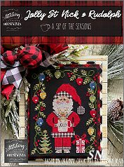 Stitching With The Housewives Jolly St Nick & Rudolph - click to see more
