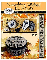 Something Wicked BOX & SMALLS Book from Sue Hillis -- click to see more