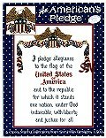 An American's Pledge by Sue Hillis Designs -- click to see a larger view